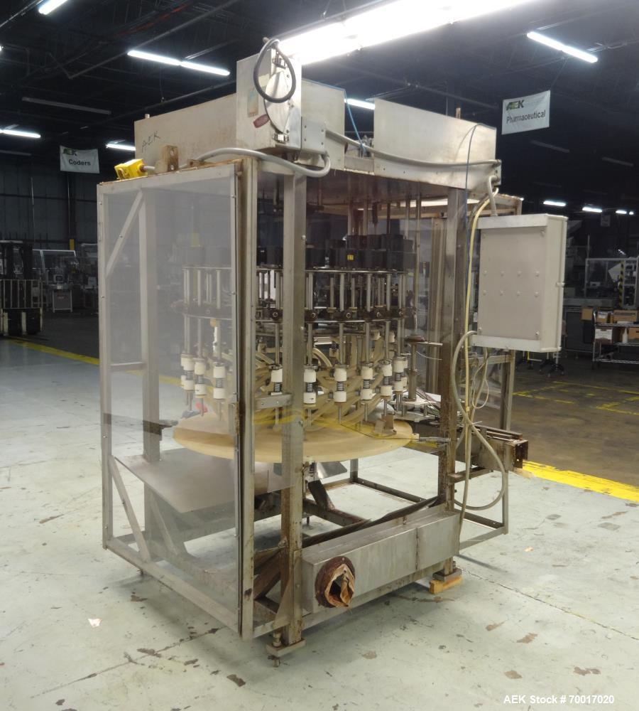Used- Filling Equipment Company 24 Head Rotary Liquid Filler