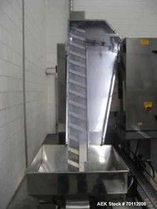Used-Masterfil Filling and Capping Line comprised of: (1) Masterfil S500.S twin head filler, built 2004.( 1) Masterfil Maste...