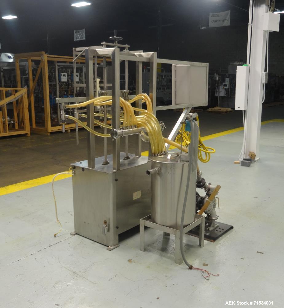 Used- Packaging Dynamics Model SLA-8 Inline 8 Head Filler