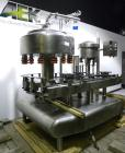 Used- Federal Rotary Gravity Filler, Model GWS3/155R1092, 304 Stainless Steel. (15) 1