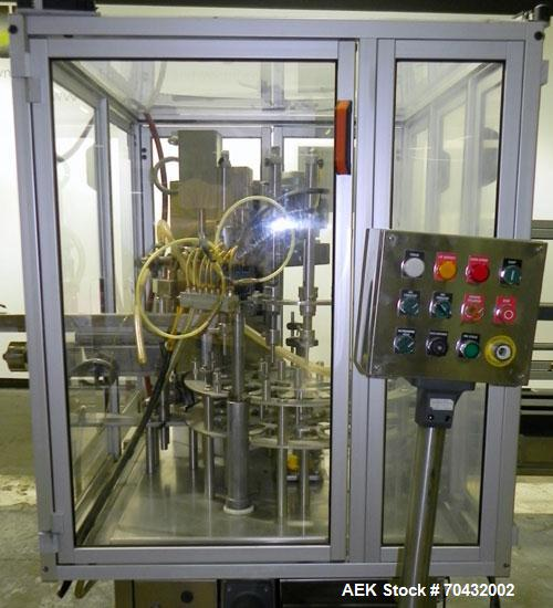 Used- Comas Model FC7 Monoblock Filler and Capper