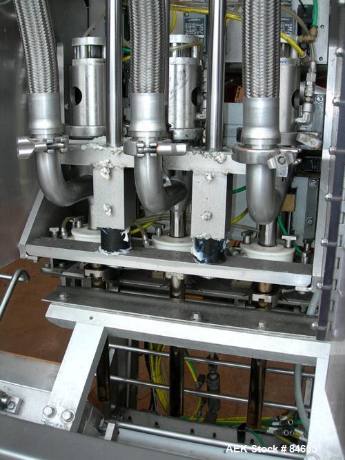 Used- Liquibox Handi-Tap Filler Series, Model 350 Sub inline filler for 2.5 gall
