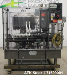 Used- Filler Specialties Model AWFS-18-6-R Monoblock Rotary Filler and Capper
