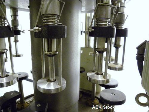 Used- Seitz (KHS Filling) Monoblock 12 Head Rotary Wine Filler and Corker, Model