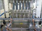 Used- Inline Liquid Filler, CMI Line 6/11 S, 6 heads