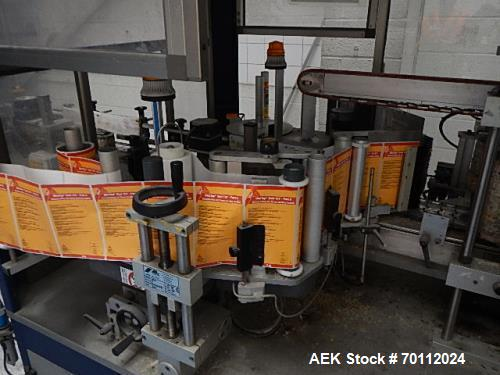 Used- Masterfil 6 Head Liquid Filler. 6 x 5ltr stainless steel pistons, back wash system for flushing out the machine. Stain...