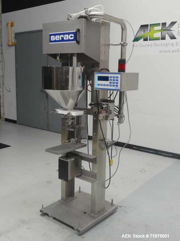 Unused- Serac Model 2229 P1 NW DIGI Semi Automatic Filling Machine.