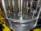Used- Serac Model R12D6 V6/720 Net Weight Monoblock Rotary Liquid Filler