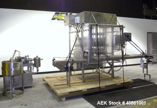 Used- Filling Equipment Company 24 Head Rotary Vacuum Filler