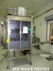 Used-RJM 16 Head Rotary Vacuum Pocket Filler