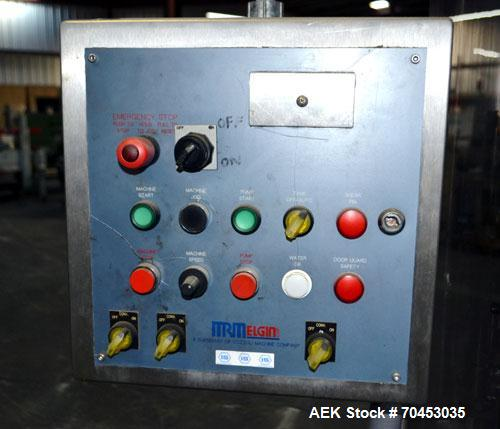 Used- MRM/Elgin 18 Head Rotary Vacuum Filler