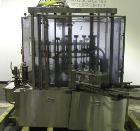 Used- MRM Elgin (Cozzoli) 24-Head Rotary Vacuum Overflow Filler