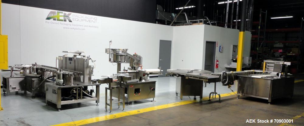 Used- Bosch (TL Systems) Model 2700 Vial Filler