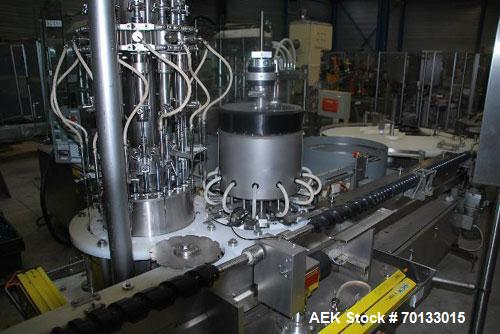 Used-Bosch FKR C 12 Rotary Filling/Capping Machine for Vials