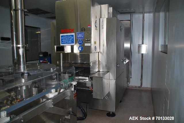 Used- Complete Line for Sterile Vials.
