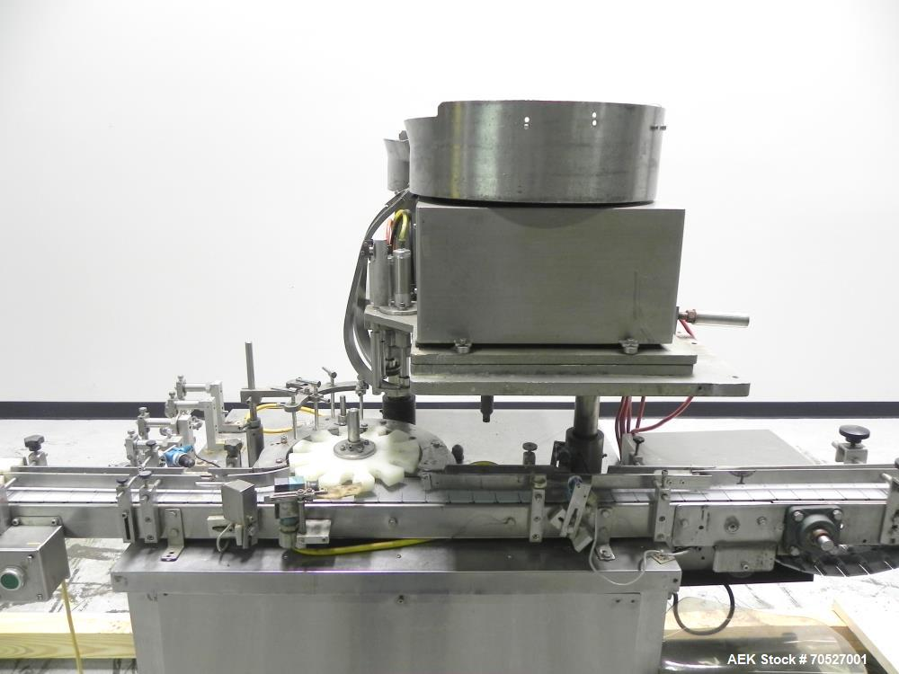 Used- Chase Logeman (Hull) Model FSS4.12 Vial Filling and Stoppering Machine