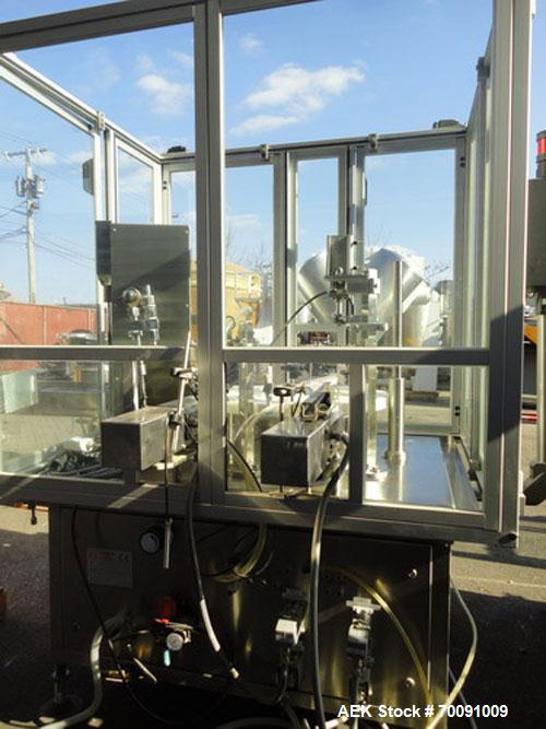 Used-Comas Liquid Vial Filler and Capper Monoblock Liquid Filler, Powder Filler RP, Model FC7-50. 3000-4000 parts per hour. ...