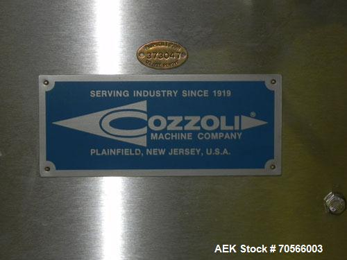 Used- Cozzoli Model FPS1 Automatic Ampule (Ampoule) Filler and Flame Sealer
