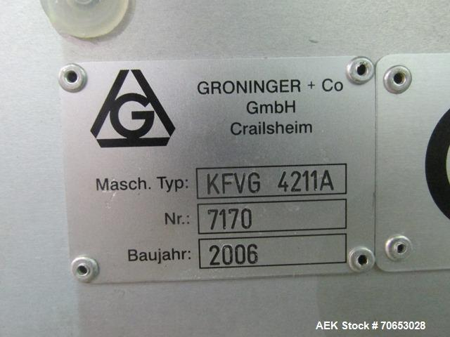 Used- Groninger Filling Line.