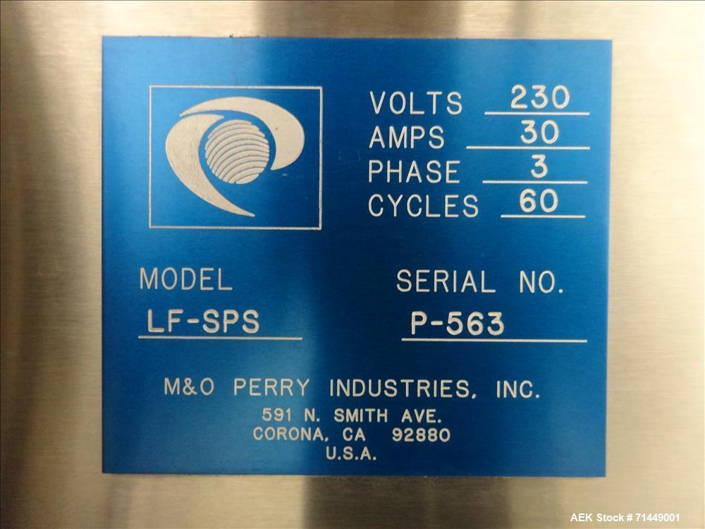 Used- M&O Perry / IMA Model LF-SPS Libra Injectable Vial Filling Line