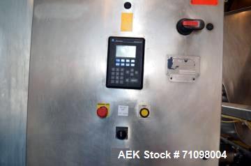 Used- FEMC Model 1219140 3 Head Stainless Steel Piston Filler
