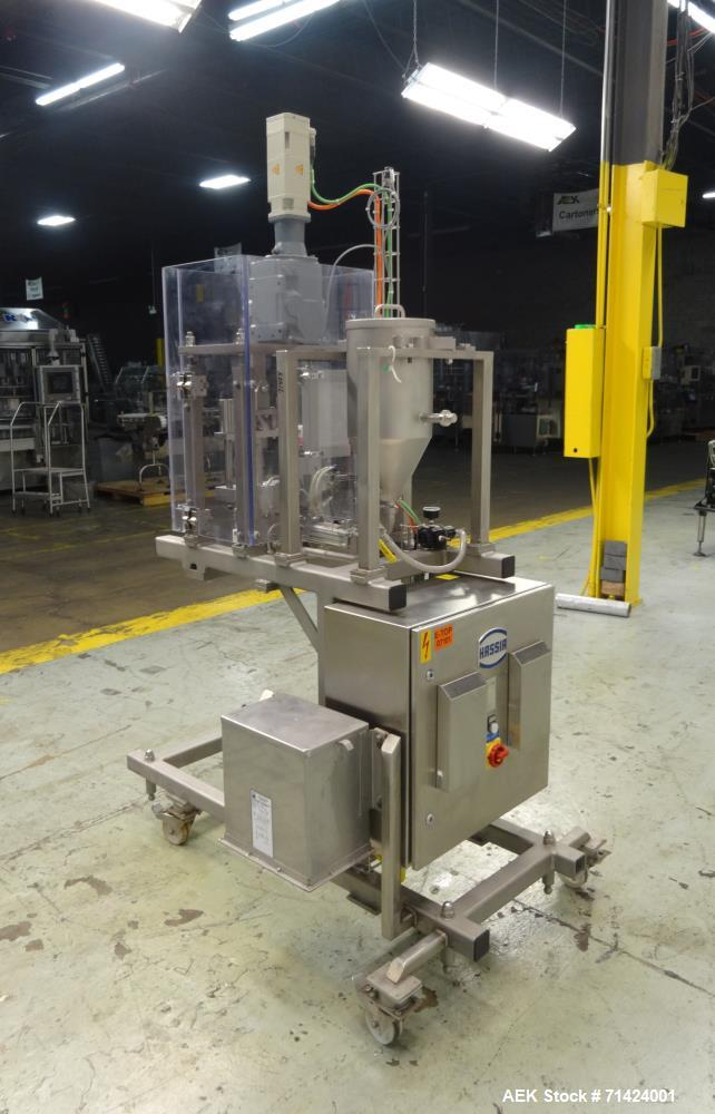 Used- IWKA Hassia Model SWB-021820 TLR Dosing Filler