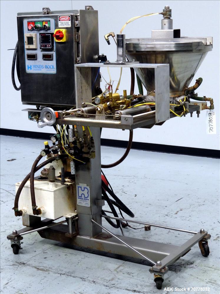 Used- Hinds Bock Model 8P-01HA Piston Filler