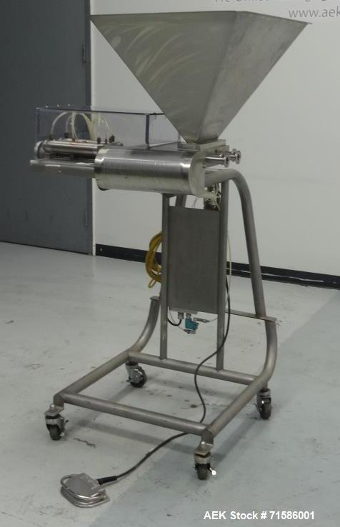 Used- Hinds-Bock Model P-02 Piston Filler