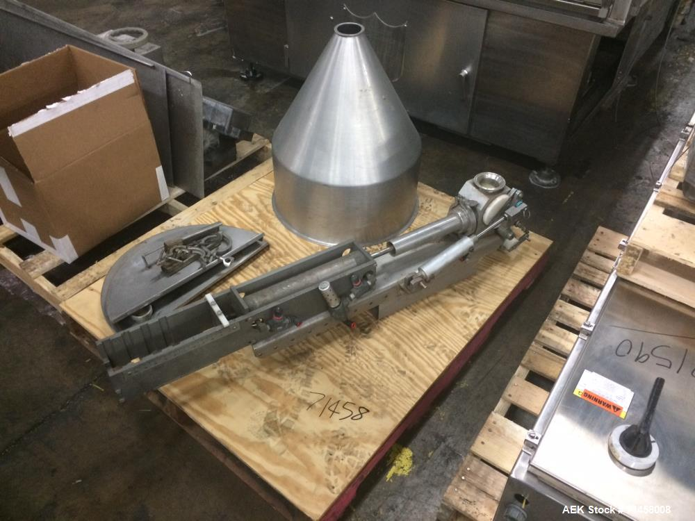 Used- Holmatic Single Head Piston Filler