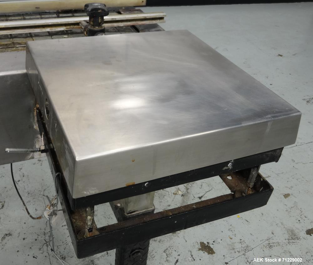 Used- Ideal-Pak Model AQ1-CNM Quart Paint Can Piston Filler and Lidder for Tripl