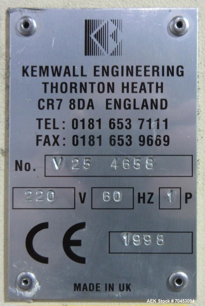 Used- Kemwall Hot Filling System