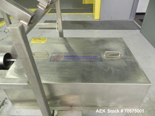 Used- Orics Volumetric Piston Filler, Model VF-ND-3200