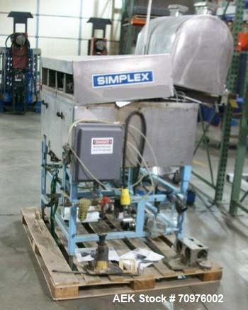 Used-Simplex Dual T Four Piston Automatic Filling Machine