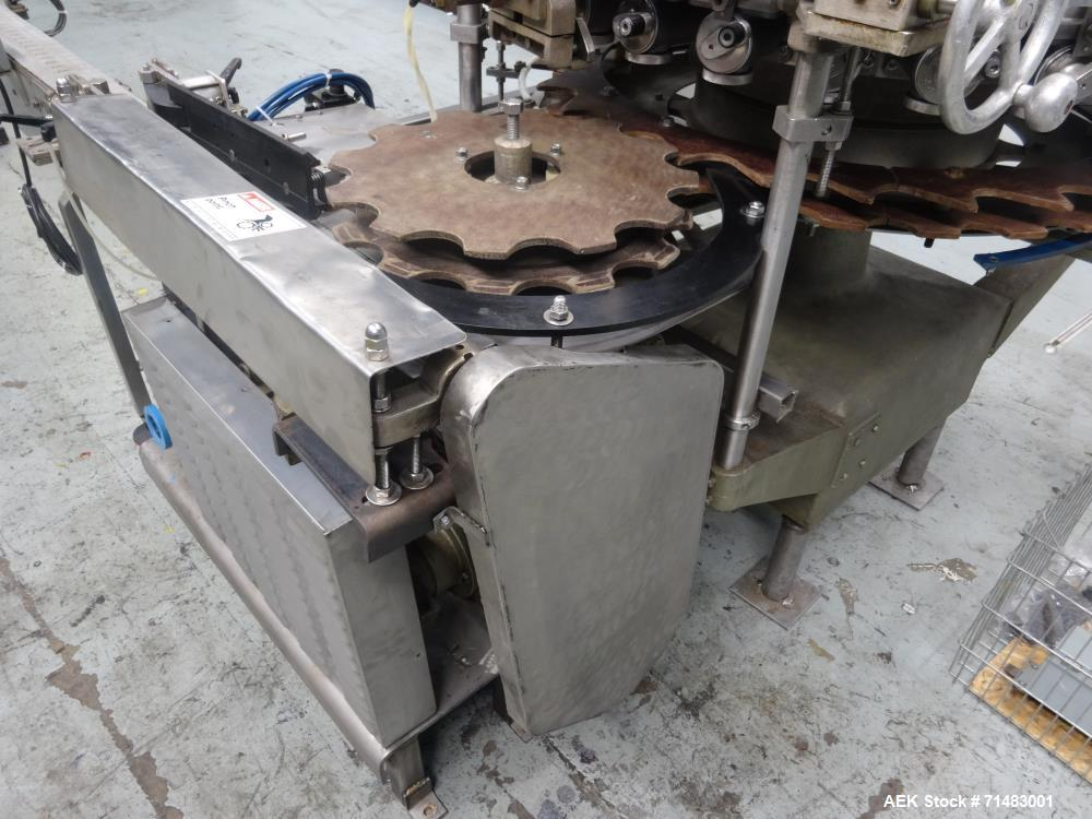 Used- Pfaudler (Elmar) RP 28 Rotary Piston Filler.