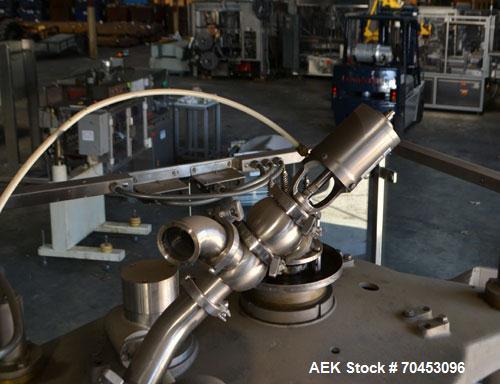 Used- IMA Model F340 18 Head Rotary Piston Filler