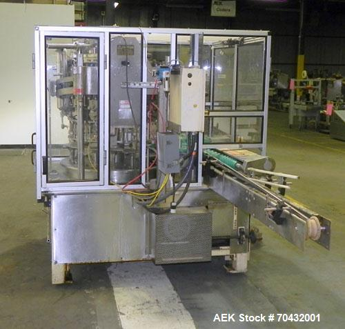 Used- MRM Elgin RPF-16 Rotary Piston Filler