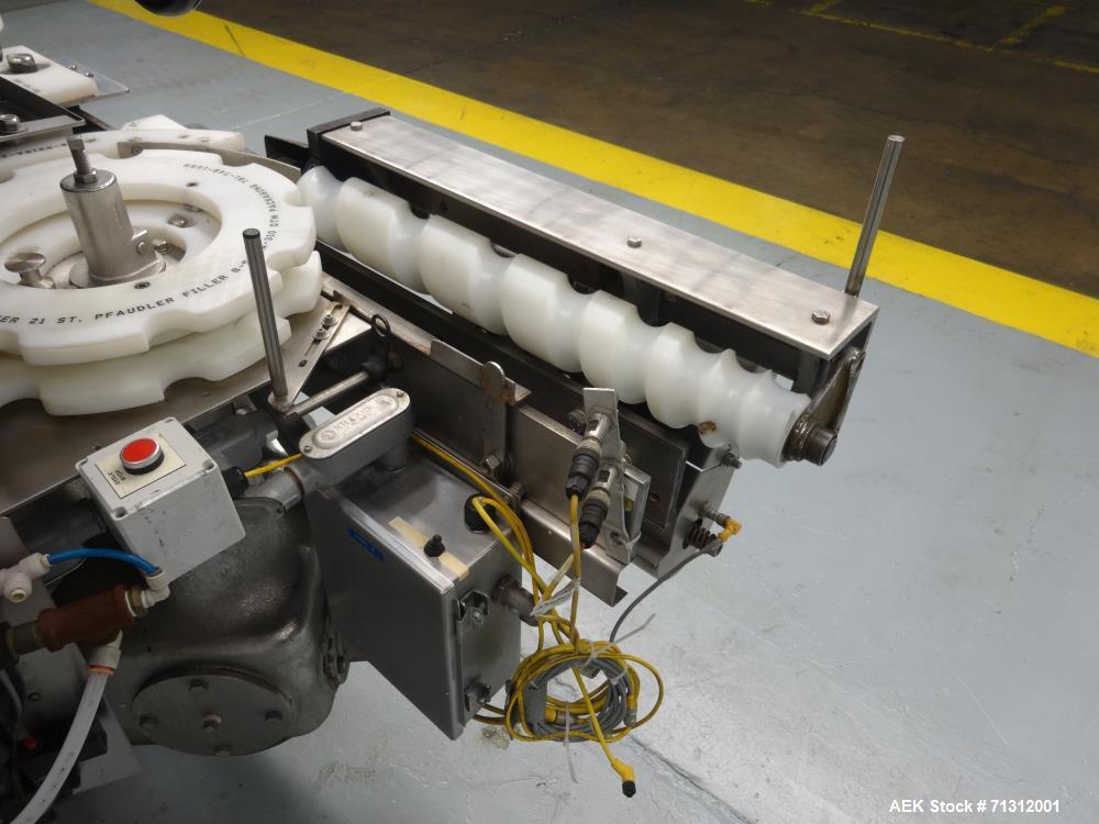 Used- Pfaudler Model RPF-21 Rotary Piston Filler