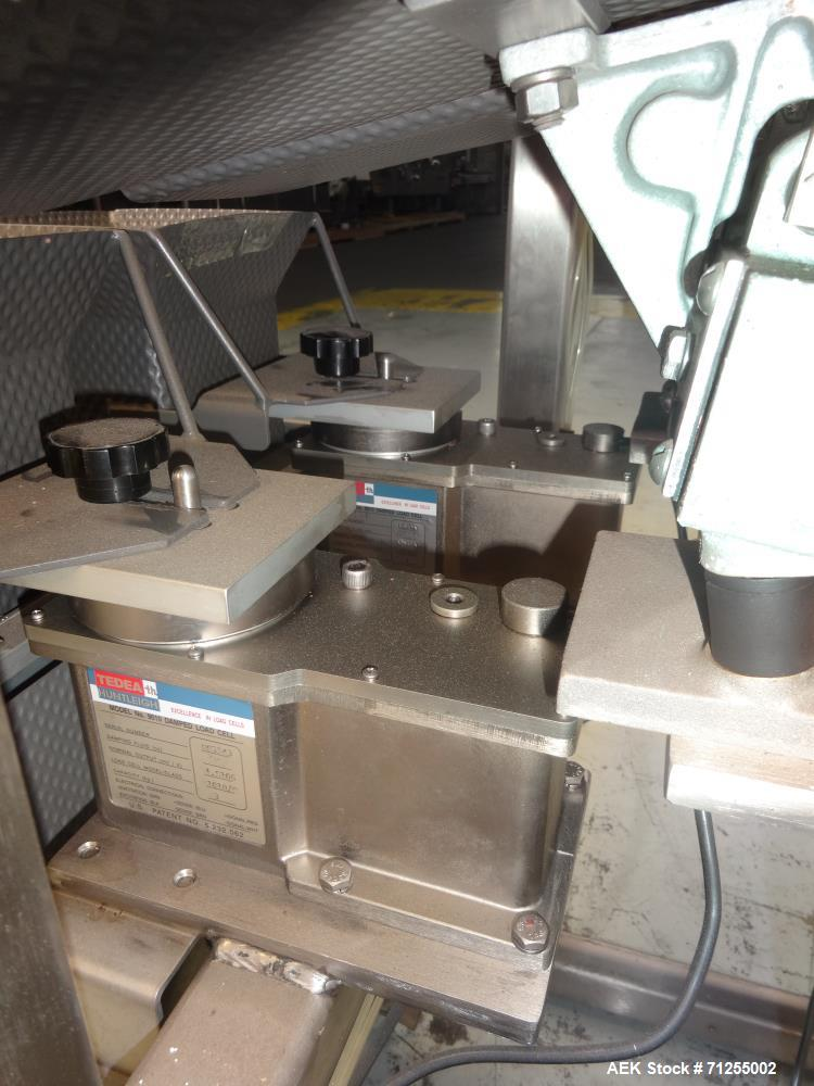 Used- Eagle Model LS22 Dual Head Linear Weigh Scale