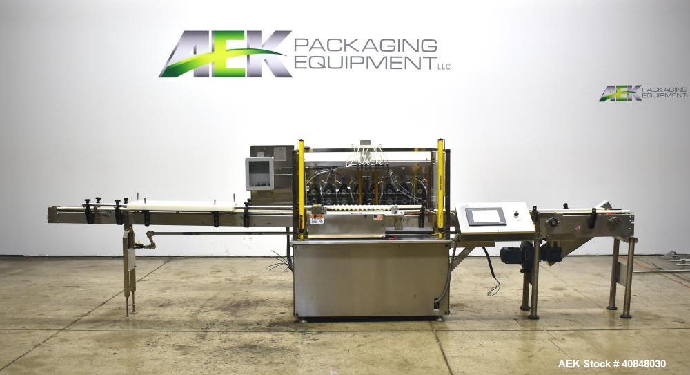 Used- APS Alpha-1 Positive Displacement Servo Driven Rolling Diaphram Type Fille