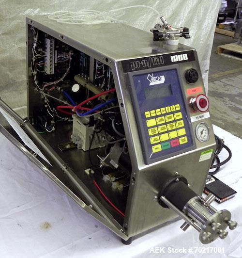 Used- Oden Pro/Fill 1000 Benchtop Liquid Filler, Model PF1K. Applications include free flowing to low viscosity products. No...