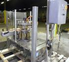 Used- Biner Ellison 6 Head Rotary Liquid Positive Displacement Filler