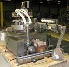 Used- Biner Ellison Versamatic 12 Head Rotary Liquid Positive Displacement Filler, Model V 26-12. (12) 1/2