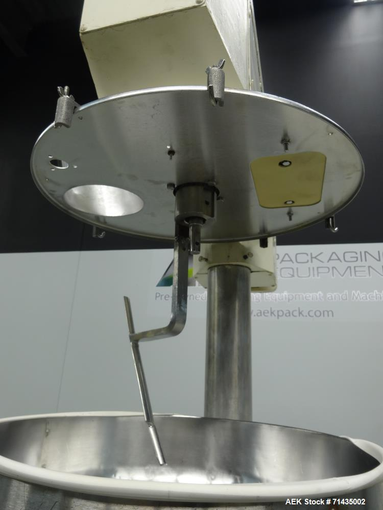 Used- All Fill Model SHA Single Head Automatic Auger Filler