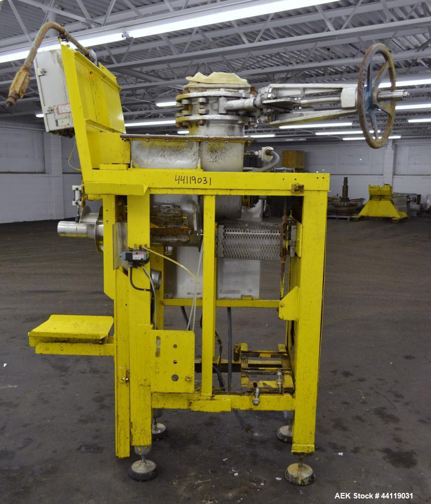 Used- W.G. Durant Model 100E Bulk Bag Filler / Auger Valve Bag Packer. 304 Stainless steel contact surfaces. Designed to fil...