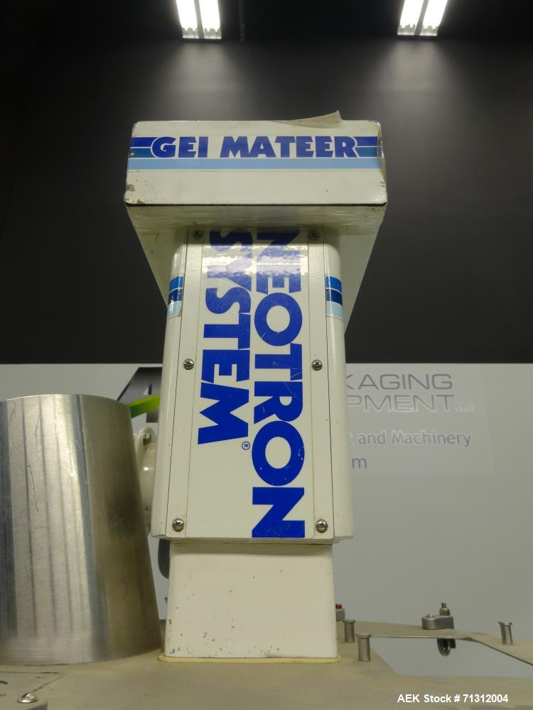 "Used- Mateer-Burt (Pneumatic Scale) Model 3930 ""Neotron System"" Powder Auger Fil"