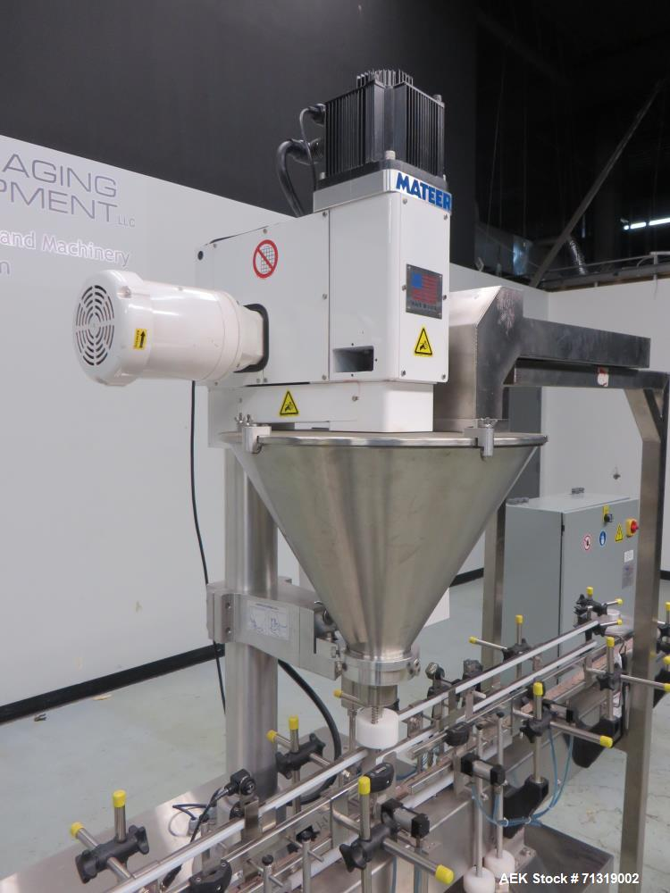 Used- Pneumatic Scale Mateer Automatic Auger Filler with Check Weigh Stations