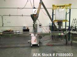 Used- All-Fill Automatic Filler and Screw Feeder, Model SHA-SV-600. 220 Volt, 3 phase, 60 Hz. Mfg. 2015.