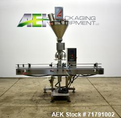 Used-All-Fill Model SHAA-600 Automatic Inline Auger Filler