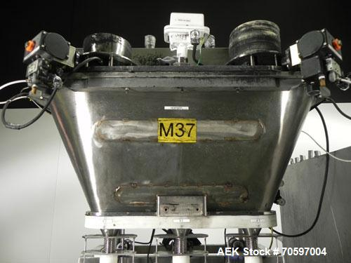 Used- Per-Fil Model MF-3 Inline Three Head Auger Filler