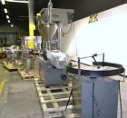 Used- All-Fill Dual Head Automatic Container / Tub Filling Line. Line consists of: 48